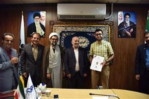 تجلیل از اعضای تیم رباتیک دانشکده شهید شمسی پور تهران