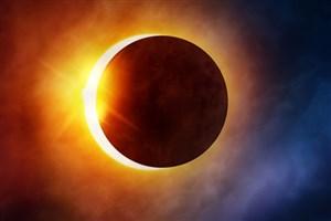 فتوکلیپ تصاویر جذاب خورشید گرفتگی