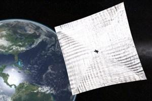 نحوه دیدن اولین ماهواره با بادبان خورشیدی در آسمان