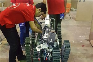Qazvin IAU Engineers Develop Industrial, Rescue & Military Robots