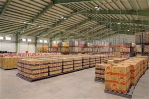 خدمات بزرگترین مرکز توزیع دارو و مواد غذایی غرب کشور به زائران اربعین