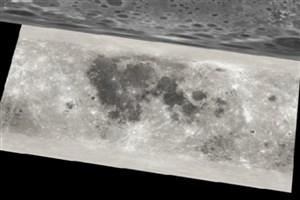 نقشه سه بعدی ماه را ببینید