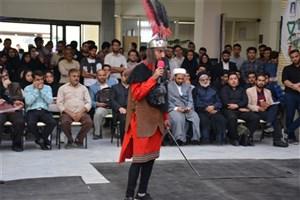 مراسم آیینی تعزیهخوانی در دانشگاه آزاد اسلامی مشهد اجرا شد