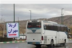 تصادف 2  اتوبوس زائران ایرانی در عراق