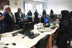 رئیس دانشگاه آزاد اسلامی از خبرگزاری دانشجویان ایران(ایسنا) بازدید کرد