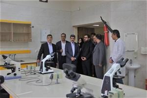 معاون علوم پزشکی دانشگاه آزاد اسلامی از زیرساخت های علوم دامپزشکی و پزشکی واحد کرج بازدید کرد