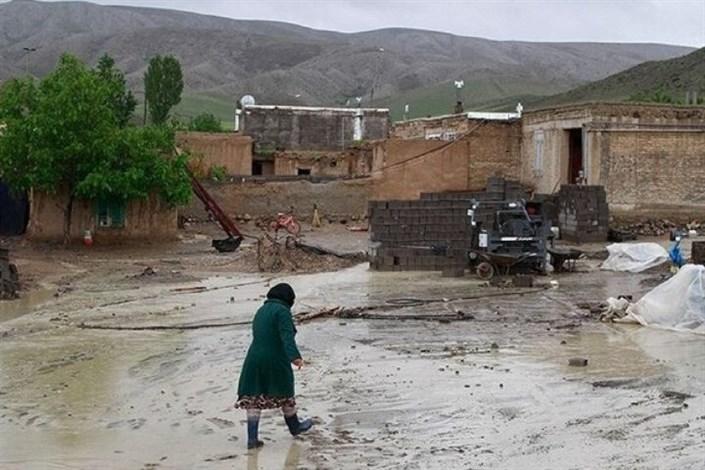 تعمیر  واحدهای مسکونی خسارت دیده از سیل