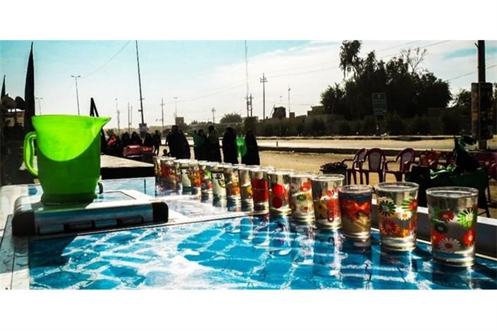مشکل کمبود آب آشامیدنی در مرز مهران برطرف شد
