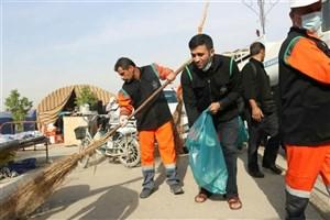 جمع آوری ۴۰۶ تن زباله در مرز مهران
