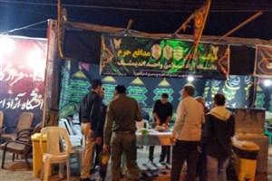 تأکید بر خدمترسانی جامع به زائران اربعین توسط موکب دانشگاه آزاد خوزستان