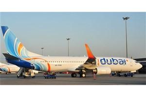 فرود اضطراری بوئینگ فلایدوبی در فرودگاه شیراز/ هواپیما سالم نشست
