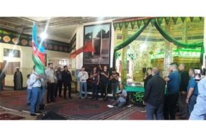 پذیرایی ستاد اجرایی فرمان امام از زوار اربعین در مرز آذربایجان