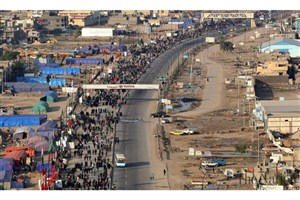 ترافیک در جاده های منتهی به مرزهای عراق