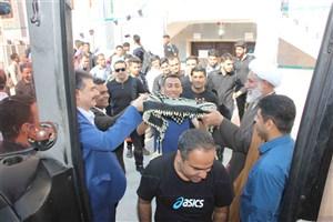 کاروان دانشجویی دانشگاه آزاد استان هرمزگان به کربلا اعزام شد
