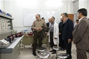 بازدید علمایی از دانشگاه آزاد اسلامی واحدهای مرودشت و فسا