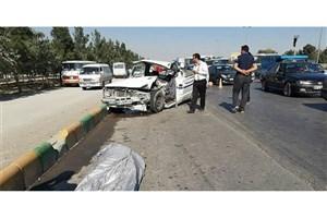 تصادف پژو  و پراید در جاده قدیم اهواز-خرمشهر/۶ نفر کشته و 3 نفر مصدوم شدند