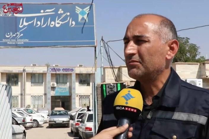 خدمت رسانی به زائرین اربعیین حسینی در موکب های دانشجویی دانشگاه آزاد / مرز مهران