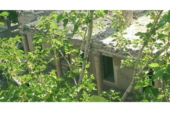 خانه باغ ملک در شهر ری