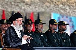 حضور رهبر انقلاب در مراسم دانشآموختگی دانشجویان دانشگاه امام حسین (ع)