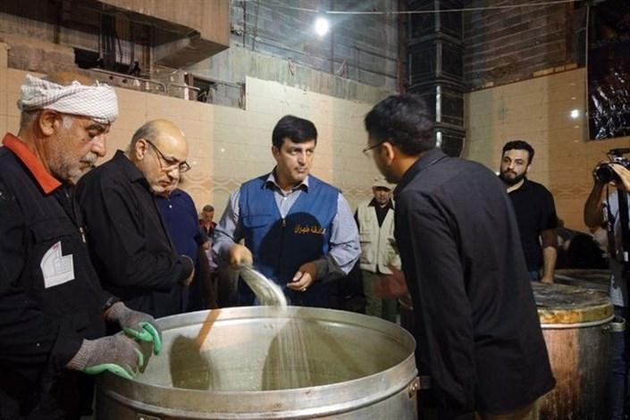 افزایش ظرفیت طبخ غذا در نجف تا سقف ١١٠ هزار پرس در هر وعده