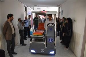 خودرو برقی بیماربر واحد مشهد تجاریسازی میشود/ ساخت نمونه اولیه برای بیمارستان امام رضا