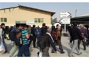 برپایی ۱۴۰ چشمه سرویس بهداشتی در پایانه مرزی چذابه