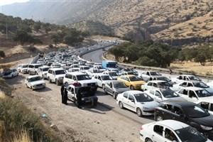 ترافیک پرحجم و روان در مسیر بازگشت زائران  از مرزها