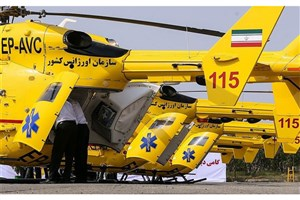 انتقال هوایی ۴۰ مصدوم از مرزها به تهران