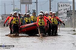 طوفان و سیل در ژاپن