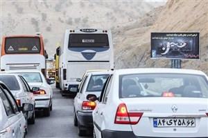 ترافیک سنگین در مسیر بازگشت زائران اربعین
