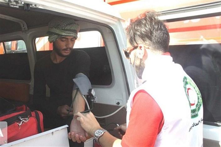 زائران حادثه دیده در ایام اربعین