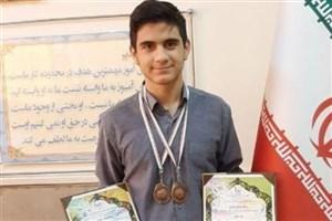کسب مدال برنز توسط دانشآموز سمای پاسداران در مسابقات جهانی ریاضی
