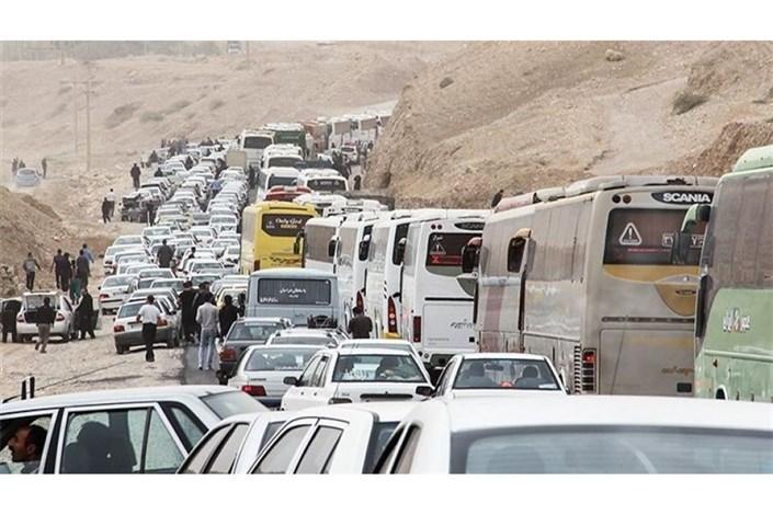 ترافیک  سنگین در مرزهای چهارگانه