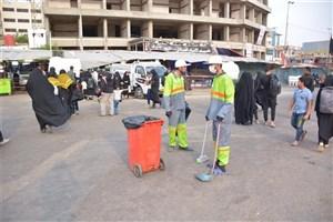 جمعآوری روزانه ١٠٠ تن زباله در نجف