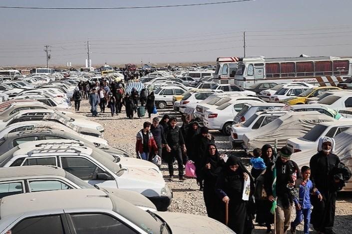 نارضایتی زائران از پارکینگ های مرزی