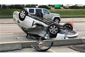تصادف زنجیره ای سرویس مدارس/ ۱۱ دانش آموز و 3  راننده هرمزگانی مصدوم شدند