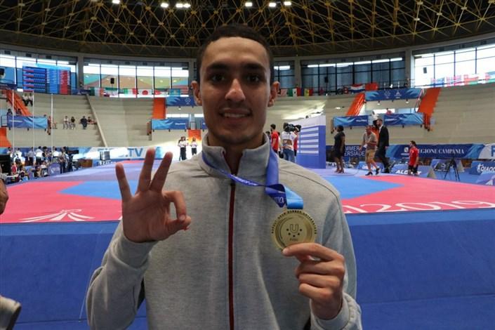 Rasht IAU Student Snatches Bronze at World Taekwondo Grand Prix