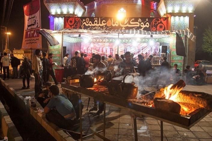 اسکان بیش از ۶۰۰ هزار زائر در مواکب ایرانی یک روز بعد از اربعین