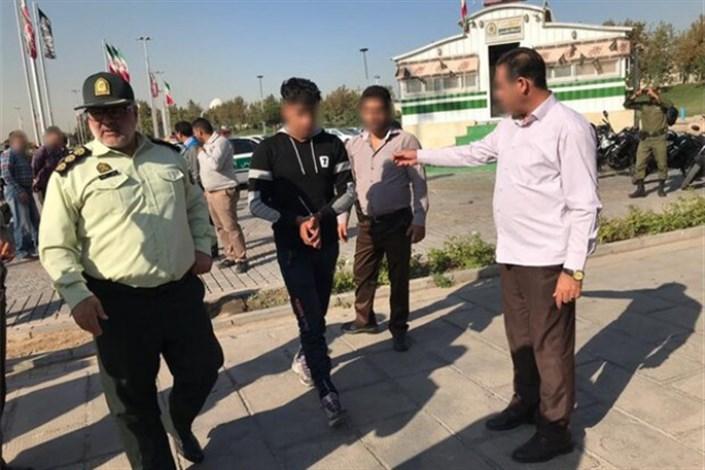 دستگیری شرور محلههای نظامآباد و شهید نامجو