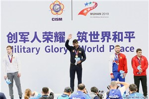 Damghan IAU Student Shines at 7th CISM Military World Games