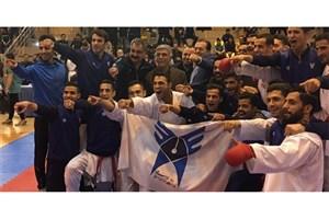 رقابت تیم کاراته دانشگاه آزاد در هفته دوم سوپر لیگ از فردا آغاز میشود