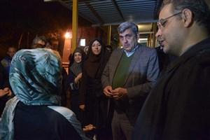حناچی از گرمخانههای تهران بازدید کرد