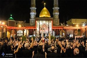 برگزاری مراسم سوگواری شهادت امام حسن عسکری(ع) در آستان سیدالکریم (ع)