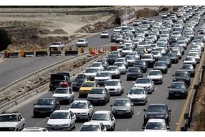 ترافیک  در خروجیهای مشهد مقدس
