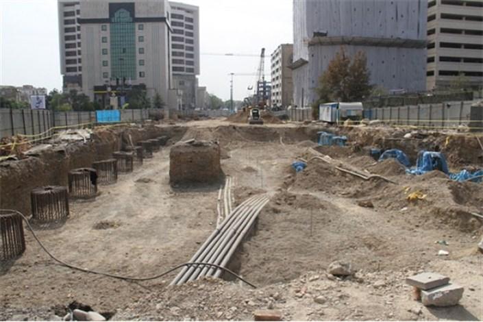 107 روز مانده به اتمام پروژه احداث تونل-زیرگذر استاد معین