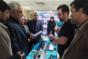 بازدید دکتر طهرانچی از نمایشگاه دستاوردهای پژوهشی و مرکز تحقیقات پسته واحد دامغان