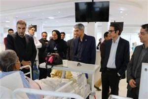 بازدید سرزده مدیر کل دفتر بازرسی وزارت بهداشت از مراکز درمانی سمنان و گرمسار