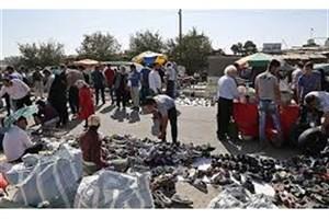دستفروشان ۴۵ متری گلشهر و المهدی  ساماندهی شدند
