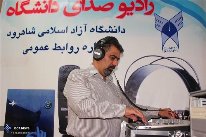 کاظم مسعودیان کارمند سمعی و بصری
