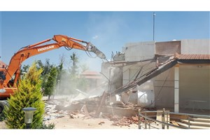 تخریب سه ویلای غیرمجاز در منطقه هیزم دره پردیس / آزاد سازی یک هزار مترمربع اراضی ملی
